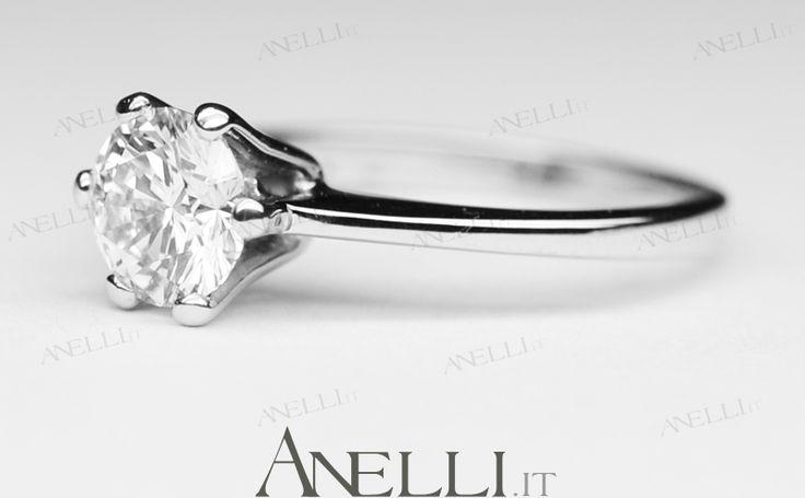 Regali di San Valentino: Solitario di 1 Carato colore D - Bianco Eccezionale Superiore, purezza VS1, un anello da sogno, strabiliante! Prezzo lancio 13.700€ iva inclusa - www.anelli.it - info@anelli.it Emoticon heart +390637515305 - #sanvalentino #regalisanvalentino #ideeregalo #regalispeciali #1carato #anello1carato #solitario1carato