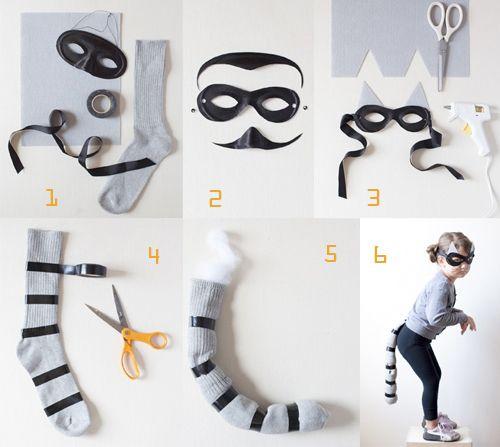 #DIY Raccoon, #Halloween