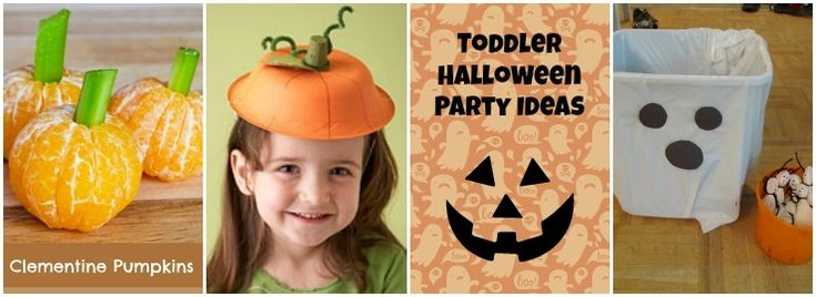 Throw a toddler Halloween party this year with simple age appropriate food and activities. Easy ways to enjoy the holiday with toddlers.