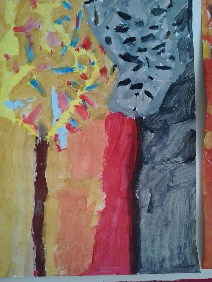 3.razred kontrast (kromatsko-akromatski), tempera