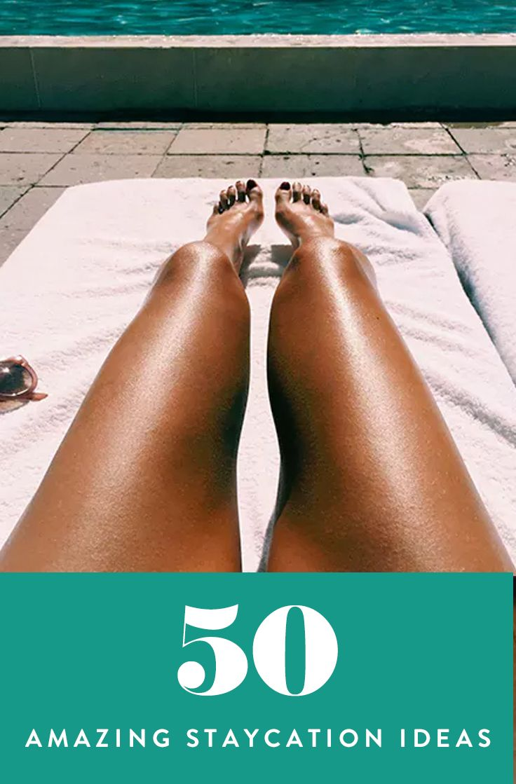 50 Little Ways to Take a Vacation (Without Actually Going Anywhere) via @PureWow via @PureWow