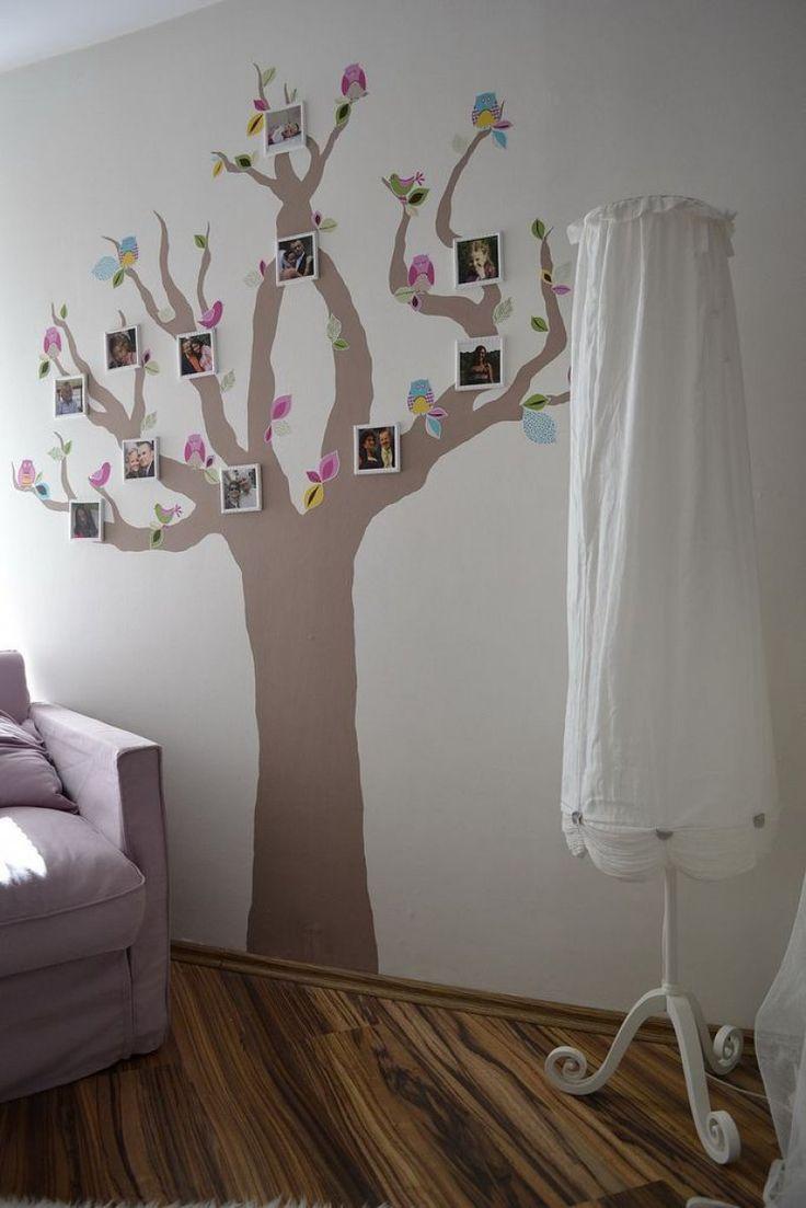 Meer dan 1000 ideeën over stamboom muur op pinterest   boom muur ...