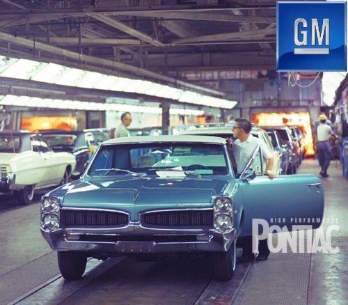 Vintage Pontiac Dealership: 150 Best Old Auto Assembly Images On Pinterest