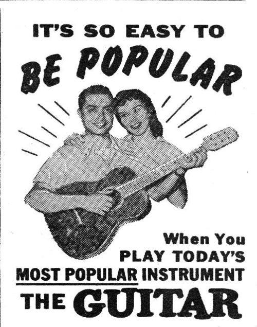 28 best vintage guitar advertising images on pinterest