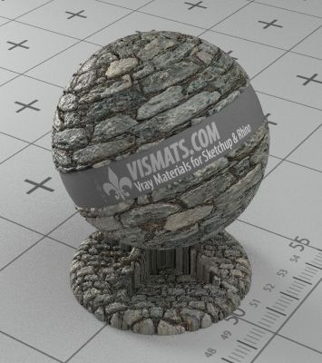 Free .vismat Materials for Vray for Sketchup & Rhino | Stone Materials Page 1