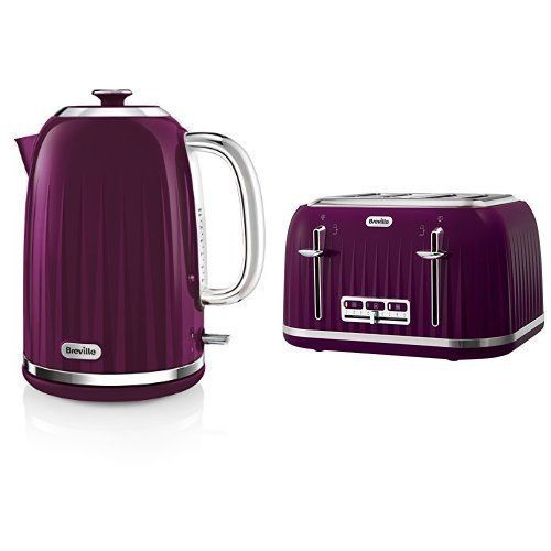 4 Slice Toaster and Kettle Set #Breville