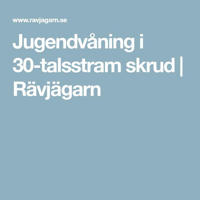 Jugendvåning i 30-talsstram skrud | Rävjägarn
