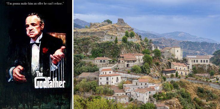 """TRAVEL """"Ojciec chrzestny"""", Savoca, Włochy."""