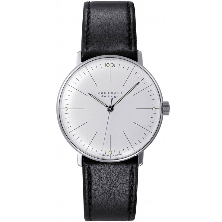 Junghans Max Bill Watch Gold Trim With Black Band