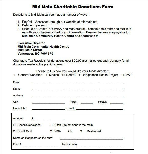Donation Request Form Template Best Of Sample Donation Sheet 9 Documents In Pdf Word Donation Request Form Donation Form Donation Request