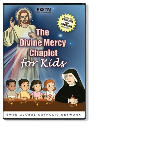 THE DIVINE MERCY CHAPLET FOR KIDS *AN EWTN DVD*Spanish & English Audio null