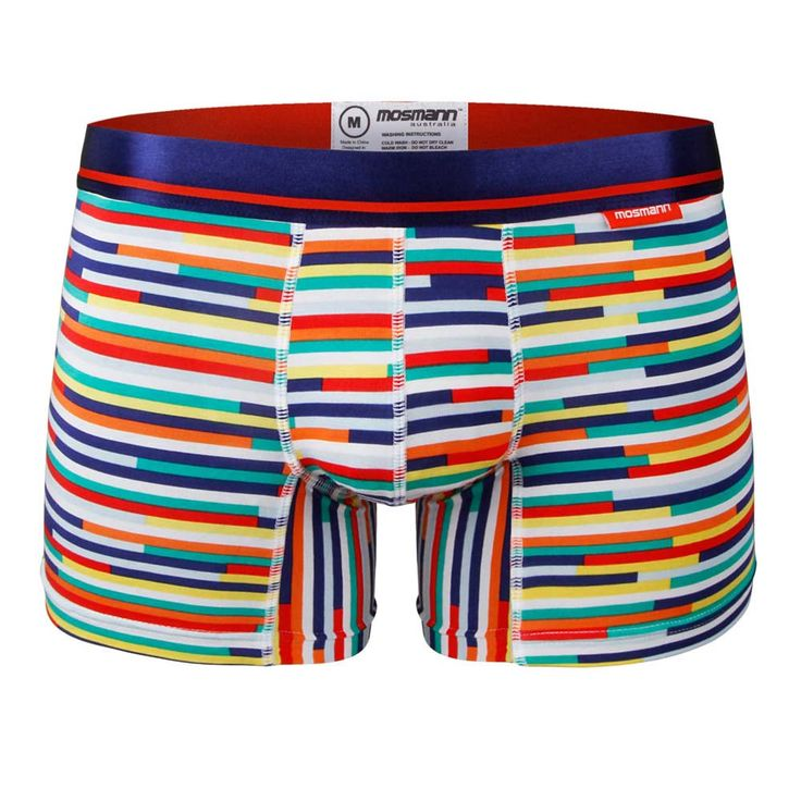 MENS BOXER BRIEF MICROMODAL - NEON