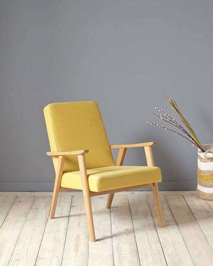 34 best Fauteuil jaune images on Pinterest Armchairs Furniture