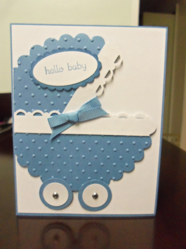 Baby Shower Card #handmade