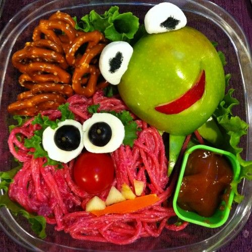 Muppet lunch.