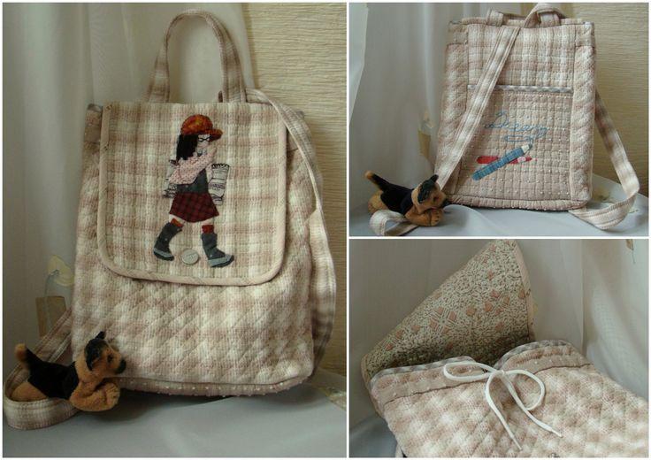 рюкзак для маленькой девочки