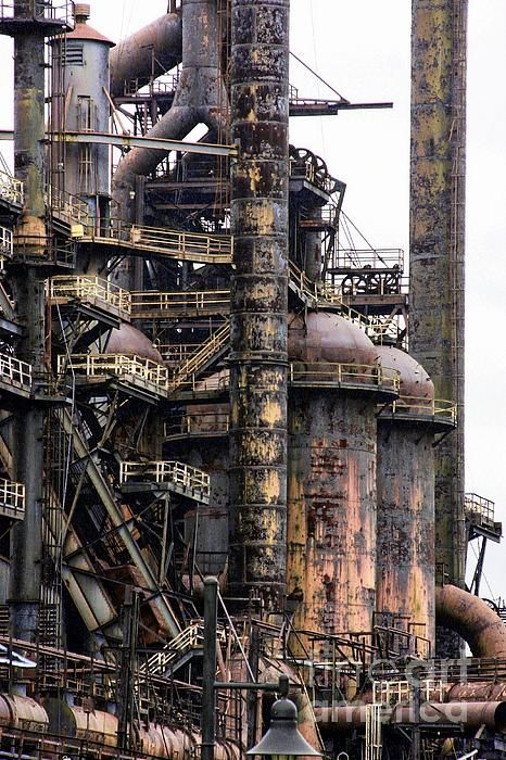 Title  Bethlehem Steel Series   Artist  Marcia Lee Jones   Medium  Photograph - Photography