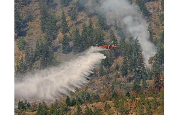 Hot, dry weather sparks B.C. forest fire season    About 80 people are on evacuation alert near Lillooet; Port Alberni sets record high for May 13