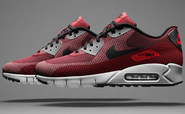 "Nike Air Max 90 Jacquard – ""Laser Crimson"""