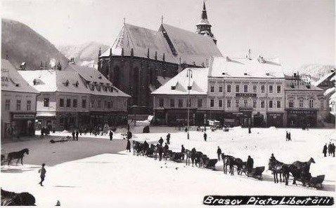 FOTO: Zăpezile de altădată ale Brașovului