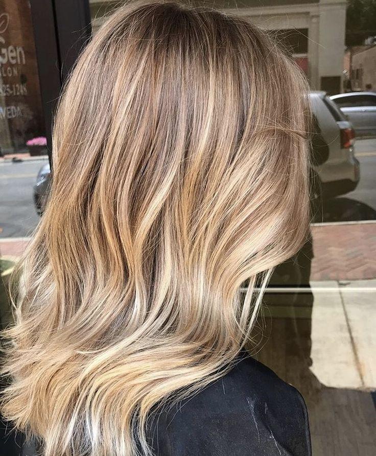 #balayage #hair #hairstyles #haircolor #blondehair…