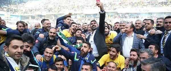 Ankaragücü 4 yıl sonra 1. Lig'de
