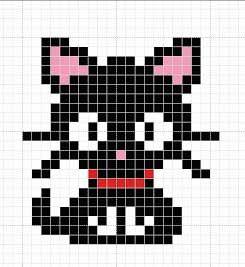 Коты — маленькие вышивки крестом.Схемы | КАРАКУЛИ