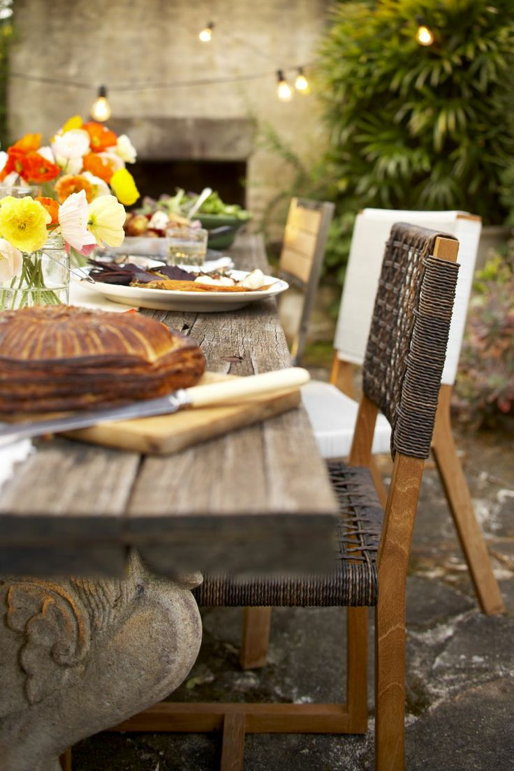 Balfour Dining Chair ($399)    #outdoorinspiration  #outdoorstyle #outdoorfurnitureideas #outdoordesignideas