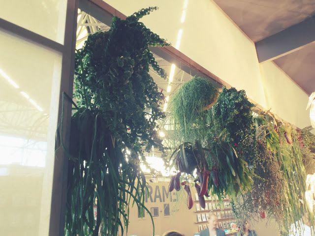 Woonbeurs 2013 - Eigen Huis en Interieur - love this way to hang plants from your ceiling