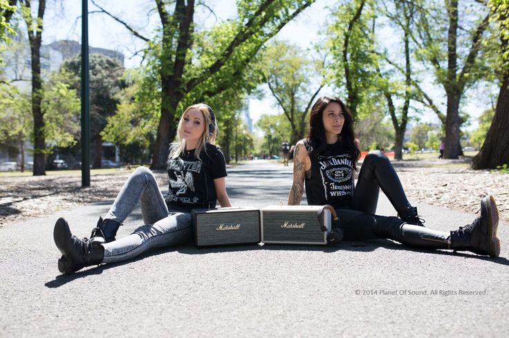 Stanmore Black + Cream loving life LOUD Down Under with Holly + Tasha.