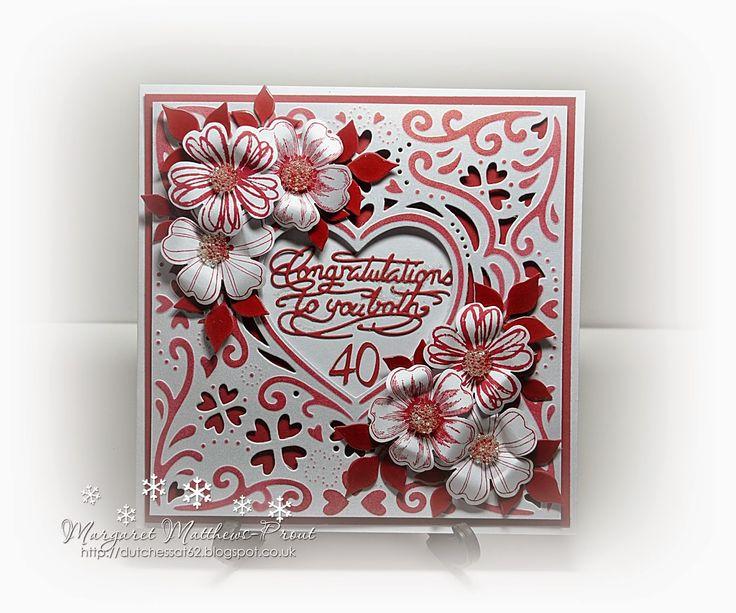 dutchess: a 40th wedding anniversary card