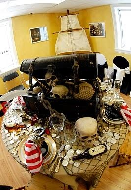 46 best images about pirate themed party ideas on pinterest. Black Bedroom Furniture Sets. Home Design Ideas