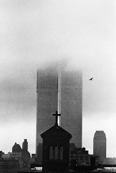 André KERTESZ (1894-1985), World Trade Center