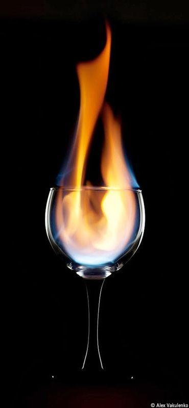 Fiery Drink Photographer: Alex Vakulenko