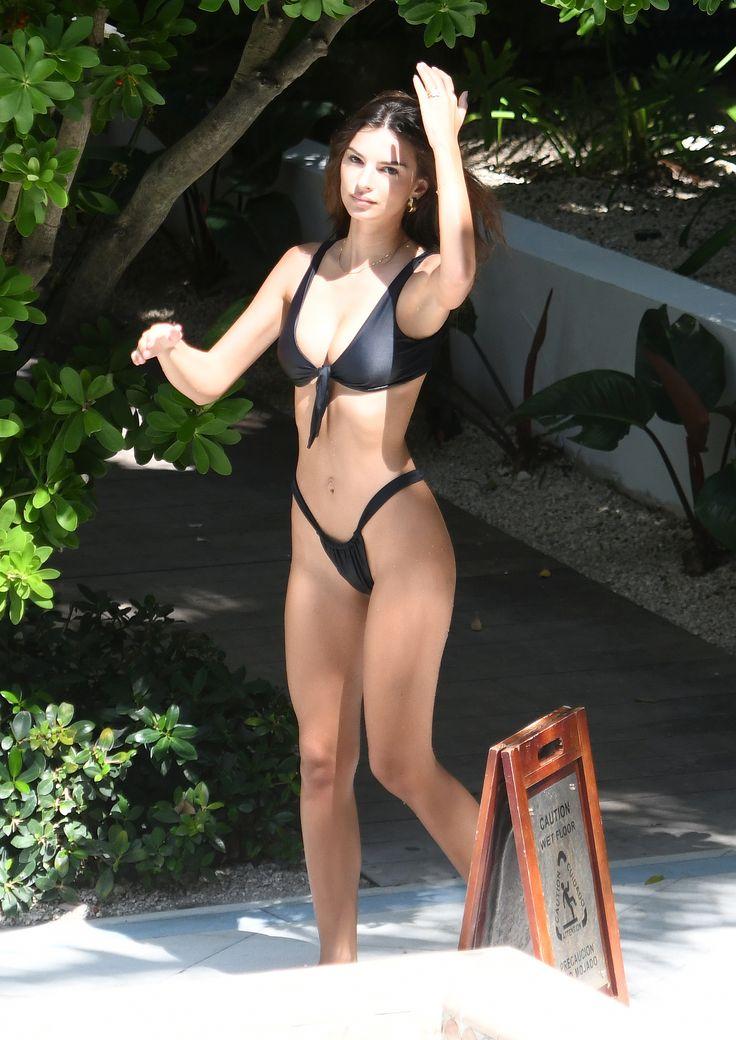 Black celebrity bikini