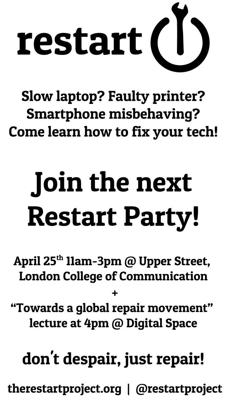 Restart Project - News & Events