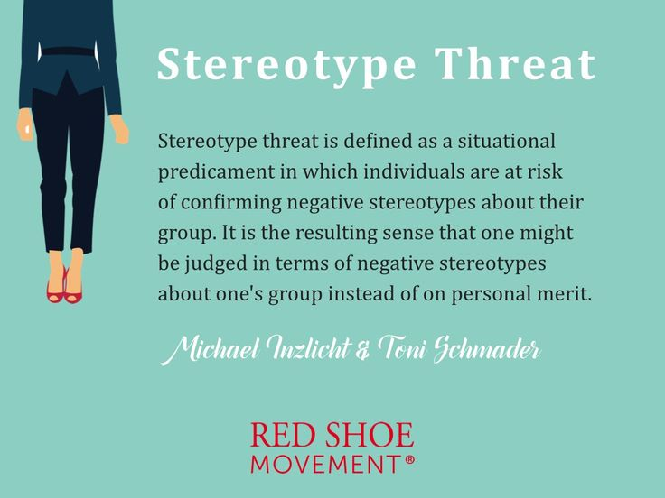 Knowing the stereotype threat definition helps you guard off any words that may lead to it