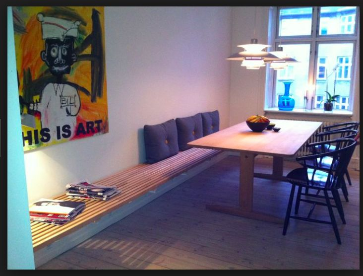 Simple Kitchen Benches Dining Room Homemade Kitchens Projects