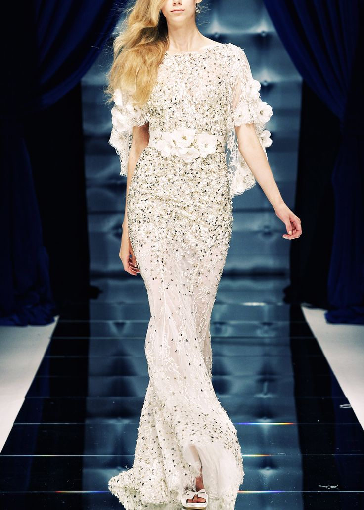 dress detailing | zuhair murad