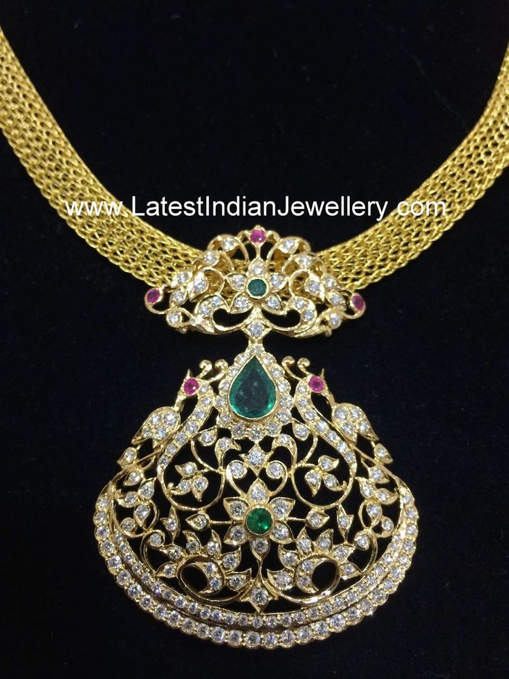 17 Best Ideas About Indian Diamond Necklace On Pinterest