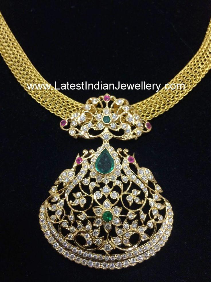 17 Best Ideas About Indian Diamond Necklace On Pinterest