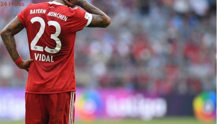Arturo Vidal ausente en derrota del Bayern Münich en la Bundesliga
