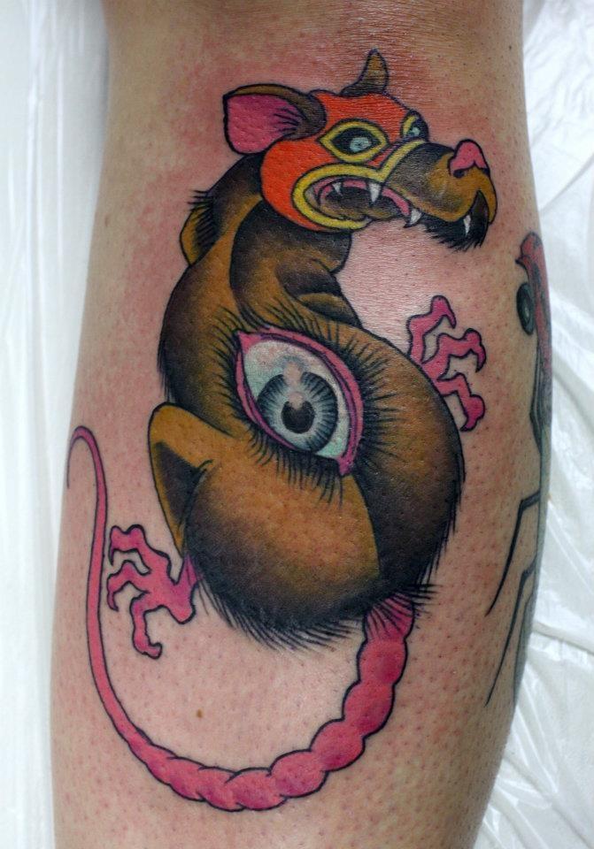 Tattoo Generator Project Rat Eye Luchador Mask Fun
