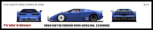 1993 Bugatti EB110 Nardo Ed' by spooned12000rpm.deviantart.com on @DeviantArt
