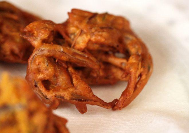 Kanda Bhaji/Khekda Bhaji Recipe