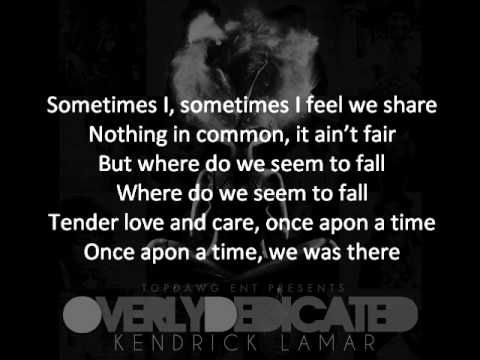 ▶ Kendrick Lamar - Opposites Attract (Tomorrow W/O Her) Featuring Javonte + ON-SCREEN LYRICS - YouTube