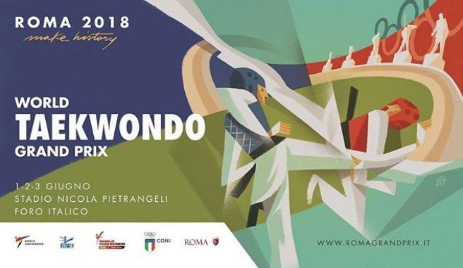 Live-streaming, Day 2: Taekwondo,1ο Grand Prix Series στη Ρώμη,Ιταλία 2018
