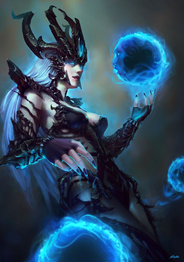 Syndra created for 'League of Legends Tribute 2015'