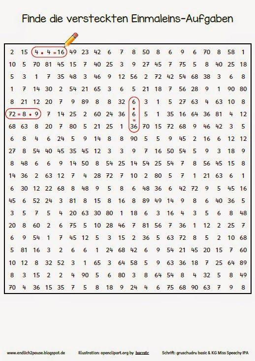 288 best Lernen - Mathe images on Pinterest | Elementary schools ...