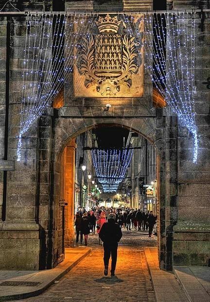 Porte Saint-Vincent, Saint-Malo.